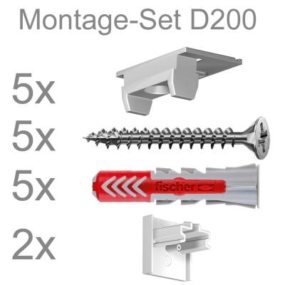 Montageset D200