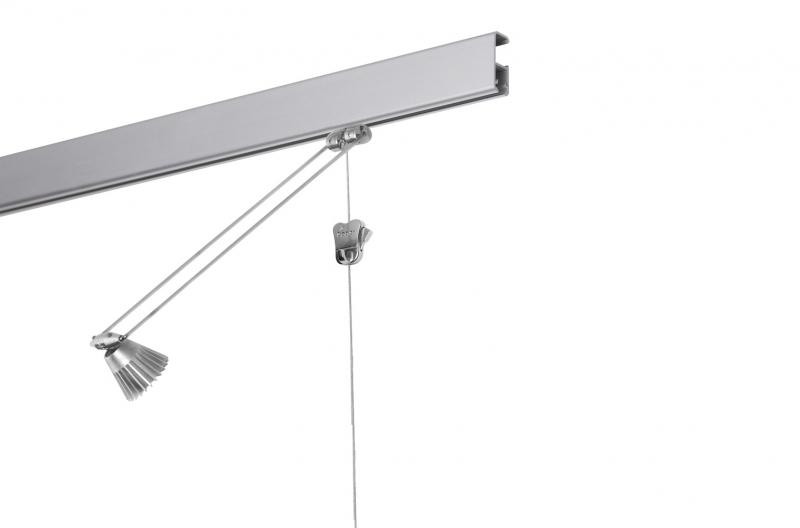 Galerieschiene Mit Beleuchtung | Stas Multirail 200 Cm Gunstig Online Kaufen