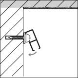 STAS Minirail - Schraubclip