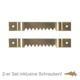 Zackenaufhänger Set